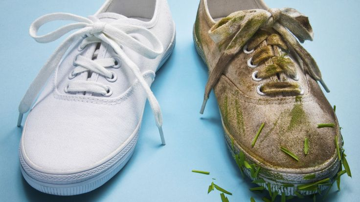 clean vs dirty shoes
