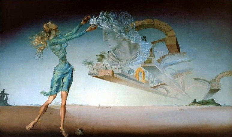 salvador dali mirage