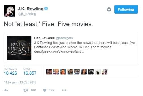 jk-rowling-five-movies